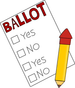 voting-ballot-and-pencil